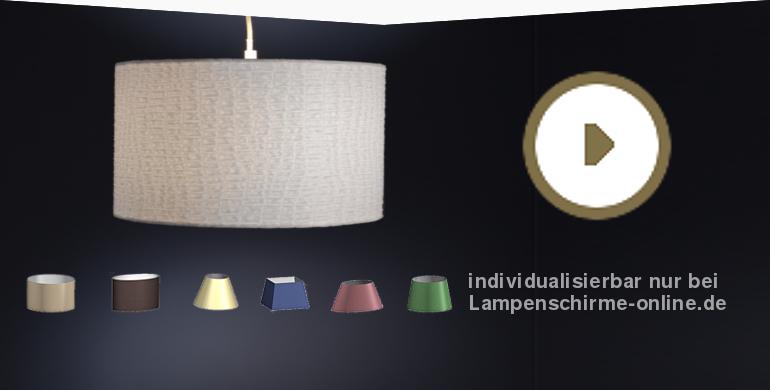 Einen Lampenschirm gestalten