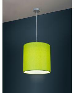 Ø 30cm LED-Lampenschirm, Baumwolle, gebürstet