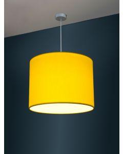 Ø 40cm LED-Lampenschirm, Baumwolle gebürstet