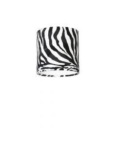 Lampenschirm Zebra Ø 25cm, Höhe 23cm
